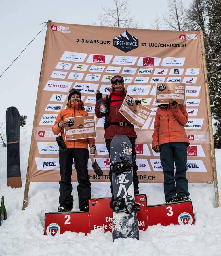 Победа на First Track Freeride, Швейцария!
